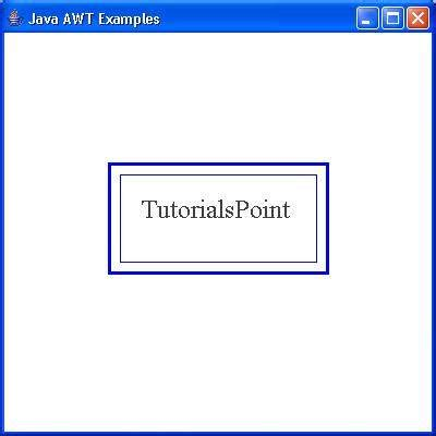 tutorialspoint for java awt basicstroke class