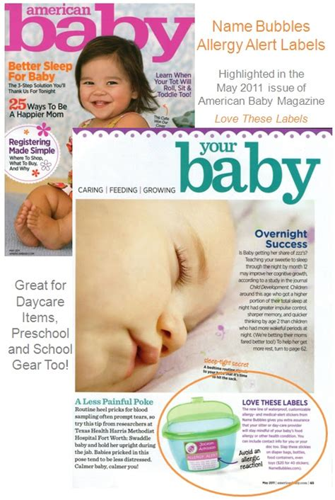 magazine sections names bubble up blog name bubbles allergy labels