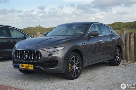 maserati levante blacked out maserati levante diesel 4 august 2016 autogespot