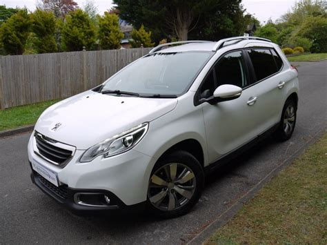 white peugeot for sale used white peugeot 2008 for sale surrey
