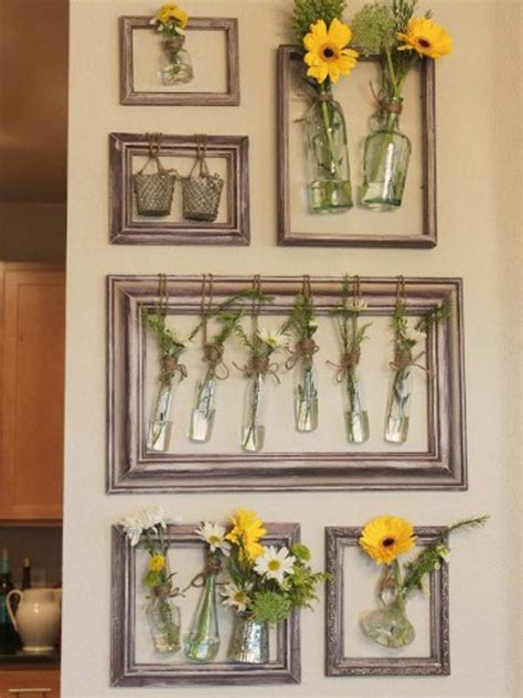 unique diy home decor 41 diy ideas to brilliantly reuse old picture frames into