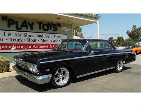 62 impala for sale 1962 chevrolet impala ss for sale classiccars cc
