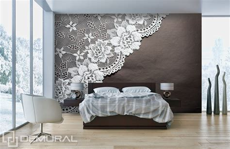 wall murals bedroom lace bedroom wallpaper mural photo wallpapers