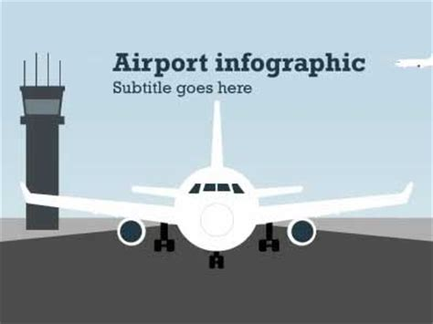 Airport Infographic A Powerpoint Template From Airport Ppt Template Free