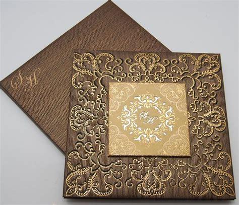 luxury muslim wedding invitations uk gold laser cut wedding invitations muslim cards islami and