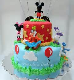 confections cakes creations mickey mouse clubhouse