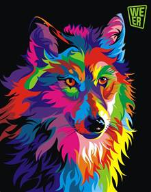 colorful animal paintings spire colorful vector animals by wahyu romdhoni