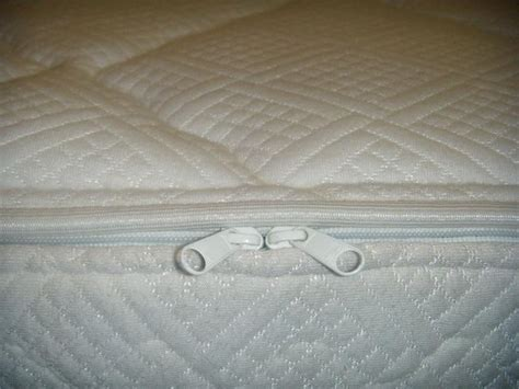 3000 side waterbed mattress quilted cotton zipper cover