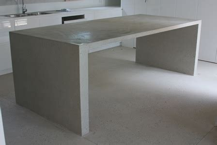 polished concrete bench polished concrete kitchen island bench polished concrete