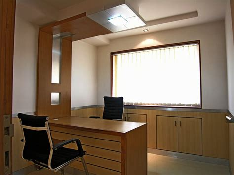 Manager Cabin Interior by Ansari Architects Interior Designers Chennai