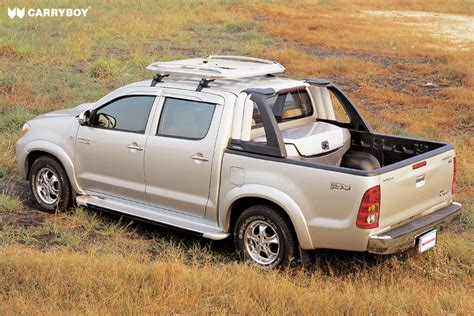 Rool Bar Hilux Ranger Triton Cabin Single Cabin roll bars carryboy 4x4 accessories
