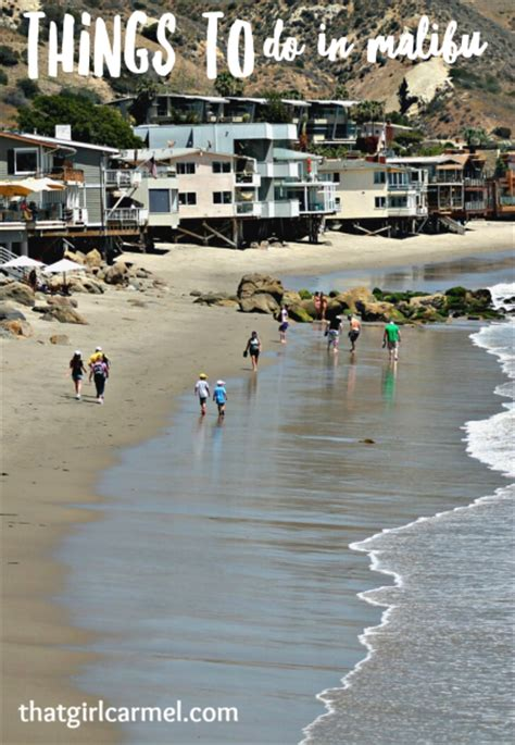 things to do in malibu thatgirlcarmel