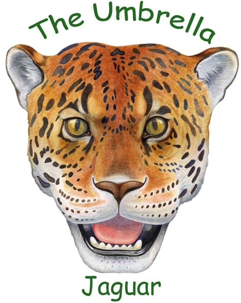 printable jaguar mask umbrella masks jaguar