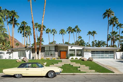 Ranch Country Home Plans by Mid Century Neighborhoods In Palm Springs