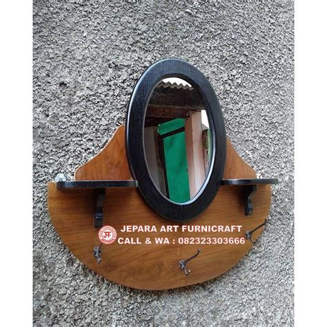 Cermin Meja Oval stop miliki segera cermin jati vintage oval harga murah