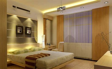 Bedroom Decorating Ideas Modern Minimalist Warm Lighting Design Modern Minimalist Bedroom Interior