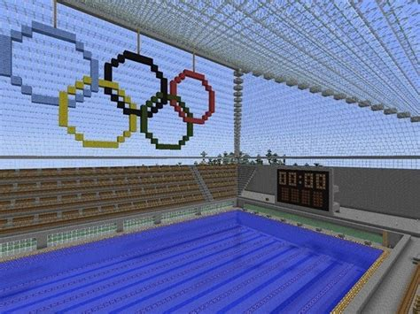 how to build a pool house swimming pool minecraft pinterest swimming pools