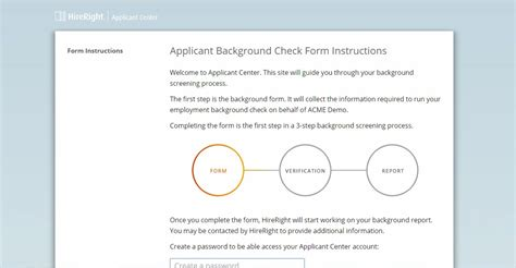Hireright Background Check Hr Tech Improve Background Checks With Next Generation Applicant Center Hr In Asia