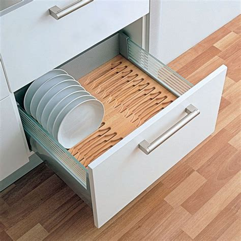 kitchen cabinet plate organizers kitchen drawer inserts kitchen drawer plate holder drawer