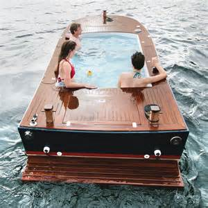 Extra Large Bathtubs 42 000 Tub Boat Floating Jacuzzi With Stereo System
