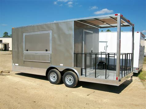 Enclosed cargo trailers for sale manufactured in south georgia