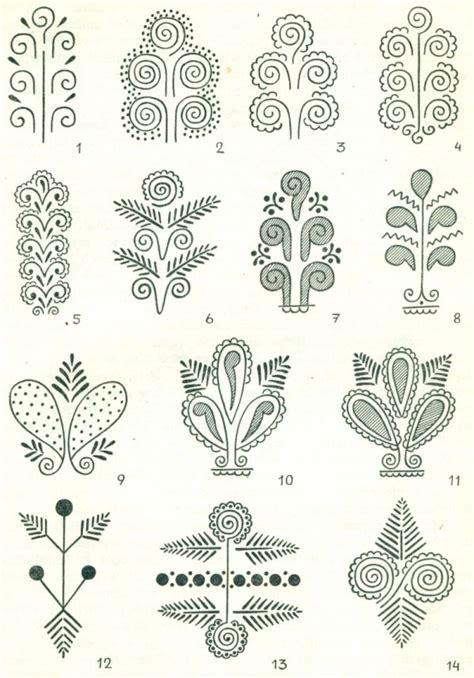 Pattern Znaczenie | traditional design of the lublin region popular motifs