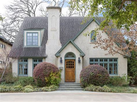 Cottage Style Houses | 1940 s style cottage in highland park texas cottages