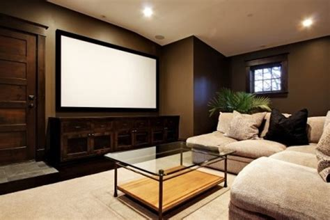 home theater decor cool and minimalist home theater decor ideas