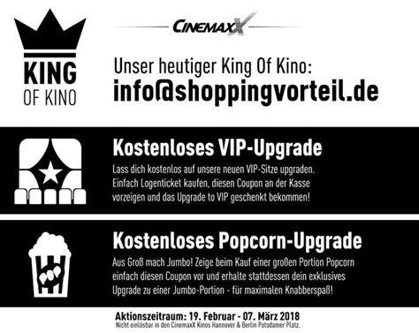 cinemaxx vip sitze kostenloses upgrade auf vip sitze in cinemaxx kinos