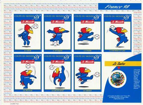 timbre 98 coupe du monde wikitimbres