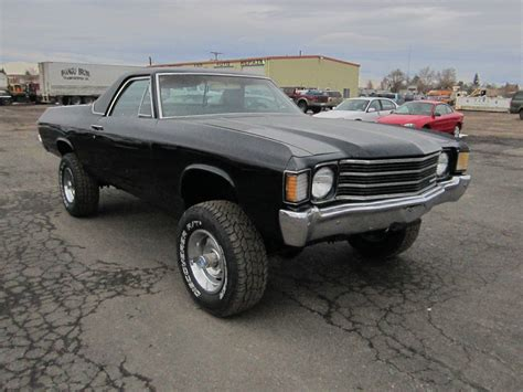 1972 el camino for sale 1972 el camino 4x4 new paint classic chevrolet el camino