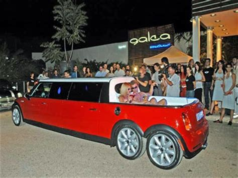 limos with tubs in them mini stretch limo with tub mini coopers pinterest