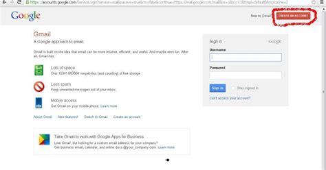 Membuat Gmail Dari Google | cara membuat account gmail dari google