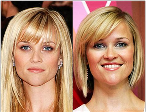 best haircut for heart shaped face and thin hair heart shaped face best short bangs hairstyle for fine hair
