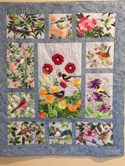 Applique Quilting by Pin By Barb Tom On Birds Quilts Applique