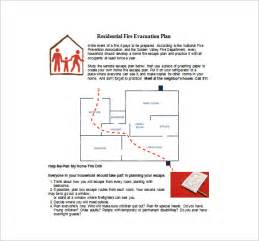 11 evacuation plan templates free sample example