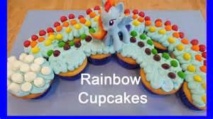 Rainbow Dash Cake Template by My Pony Rainbow Cupcakes