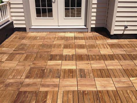 wooden deck tiles jbeedesigns outdoor warm and ideal