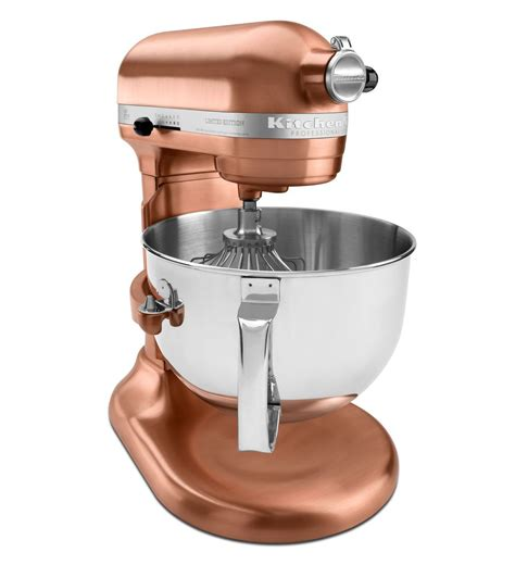 Satin Copper Kitchenaid Mixer by Professional 620 6 Quart Bowl Lift Stand Mixer Kp26m8xcp