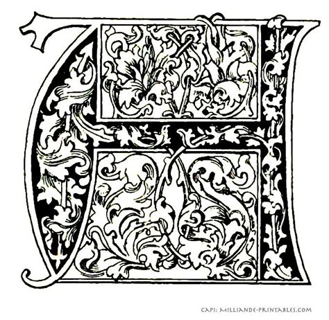 illuminated letter templates free 1000 images about illuminated letters on gold
