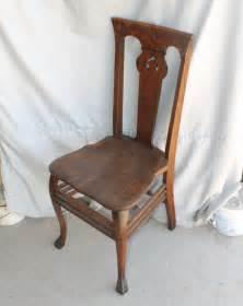 Oak Vanity Chair Bargain S Antiques 187 Archive Antique Oak Vanity