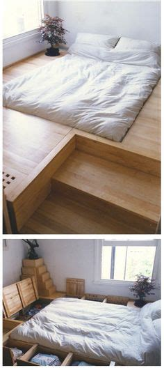 beds that sit on the floor japanese platform bed on pinterest platform beds