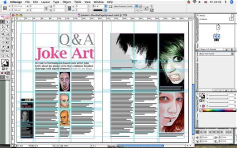 layout artist indesign screen shot of indesign by flatfourdesign on deviantart