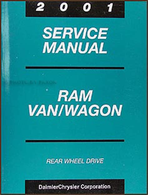 manual repair autos 2001 dodge ram van 3500 electronic valve timing 2001 dodge ram van and wagon shop manual b1500 b2500 b3500 repair full size rwd ebay