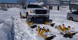 Truck Wheels Snow Wheel Driven Snow Track System For Trucks America