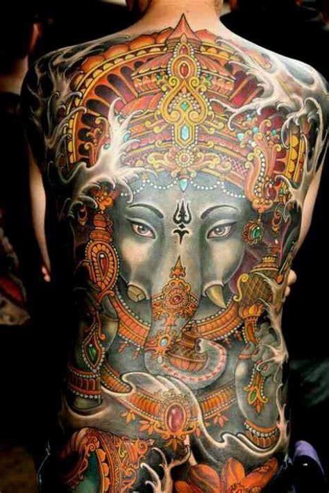 ganesha tattoo la ink lord ganesha tattoo religious ink elephant god back