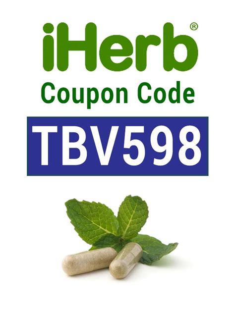 i supplements coupon code iherb coupon code use promo tbv598 for a 10 iherb discount