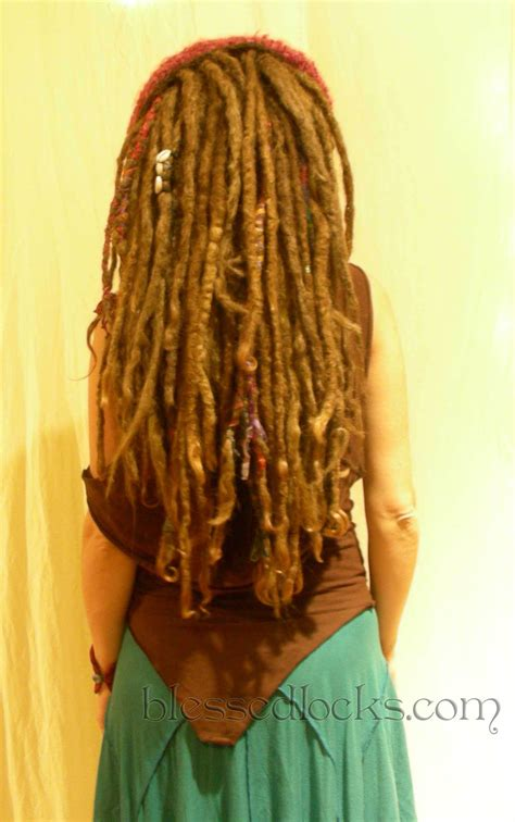 hoe to manage dread lock extensions blessed locks custom dreadlock extensions and falls from