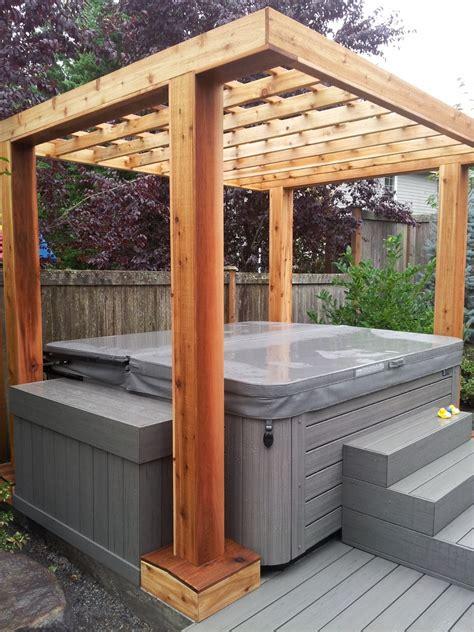 Hot Tub Pergolas Outdoor Goods Tub Pergola