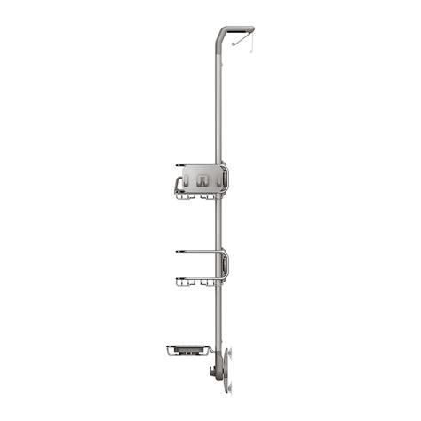 stainless steel shower caddy the door buy simplehuman the door shower caddy amara